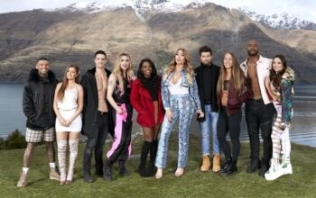 The central cast of MTV's Ex On the Beach: Peak of Love