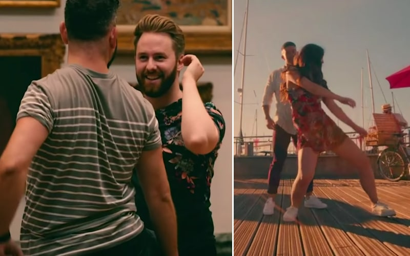 Two couples meet for the first time while performing choreographed dances on Channel 4's version of Flirty Dancing, which Fox is adapting for the US.