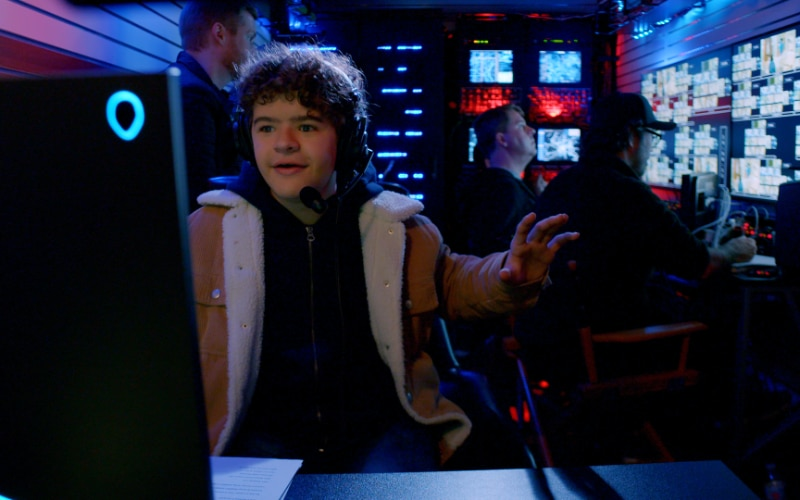 Stranger Things star and Prank Encounters host Gaten Matarazzo allegedly giving actors direction from an alleged control room