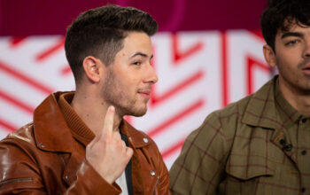 Nick Jonas and one of the other Jonas Brothers on The Today Show on June 7, 2019