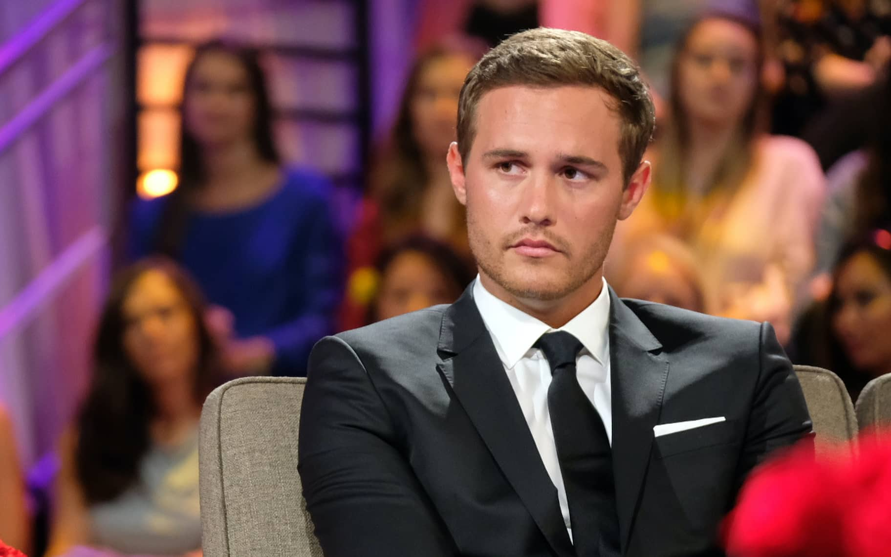 The Bachelor 23 star Peter Weber during The Bachelorette season finale