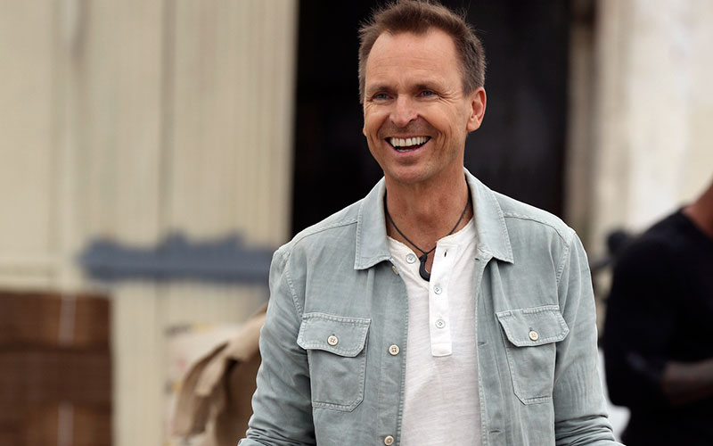 Phil Keoghan, host and co-creator of the new CBS reality competition Tough as Nails