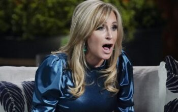 Sonja Morgan during the Real Housewives of New York City season 11 reunion