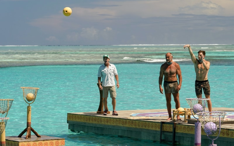 During the immunity challenge, Dean almost saved new Lairo from the same fate as old Lairo