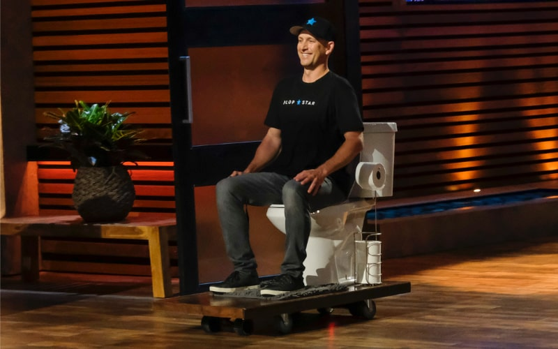 Tyler Jay, founder of Tandem, showing up to pitch the sharks on Shark Tank season 11, episode 5