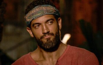 Aaron Meredith during the Survivor Island of the Idols episode 10 Tribal Council