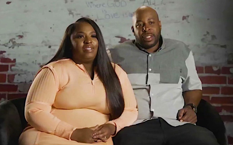 Andrea and Lamar, one of the couples featured on Love After Lockup: Life After Lockup season 2.