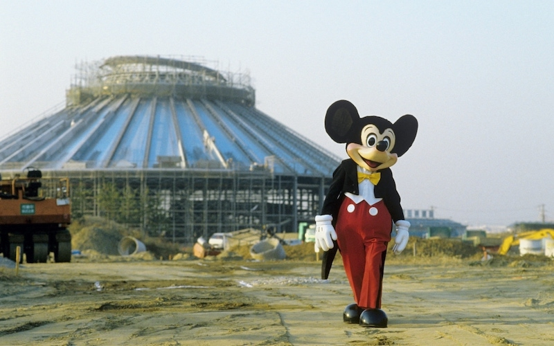 Mickey Mouse in The Imagineering Story, one of the new unscripted series launching on Disney+ this week.