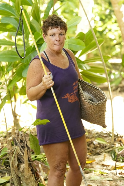 Janet Carbin on Survivor Island of the Idols episode 5