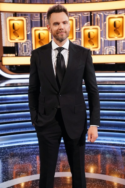 Joel McHale, host of Card Sharks season one—but not yet confirmed to return for season two