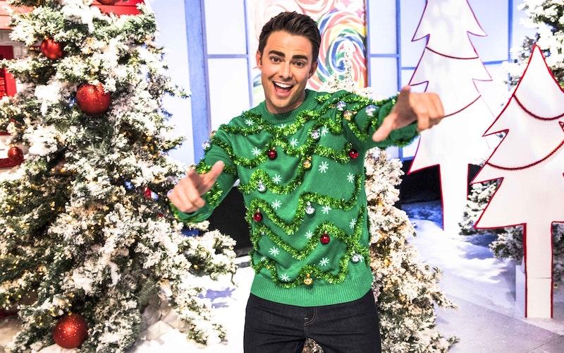 Jonathan Bennett, host of Holiday Wars.