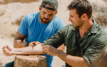 "On Kings of Pain, Rob ""Caveman"" Alleva puts a tarantula hawk, a massive wasp, on Adam Thorn so it can sting him"