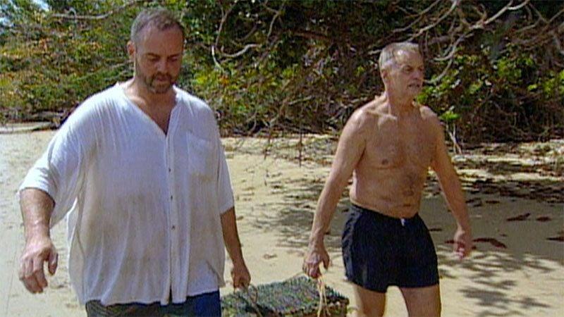Rich and Rudy on Survivor season 1