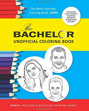 The Bachelor Unofficial Coloring Book