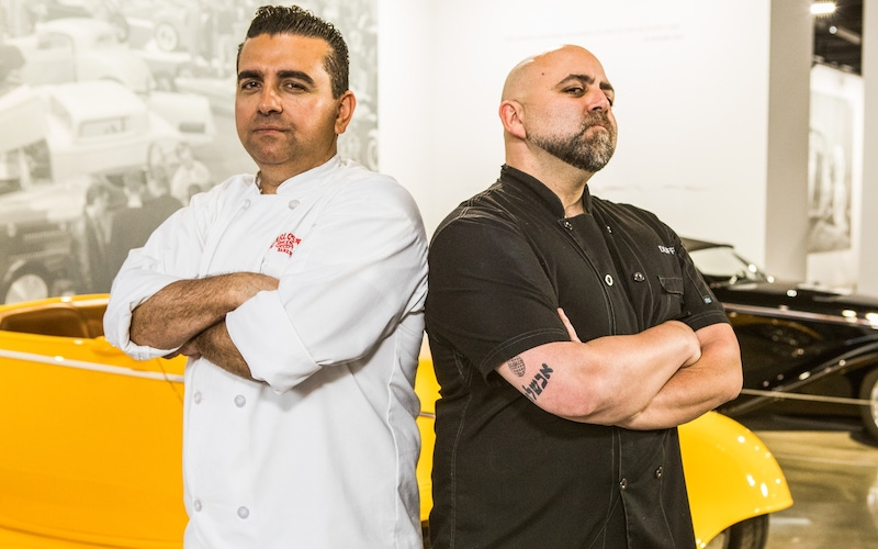 Buddy Valastro and Duff Goldman will face off again in Buddy vs. Duff season 2