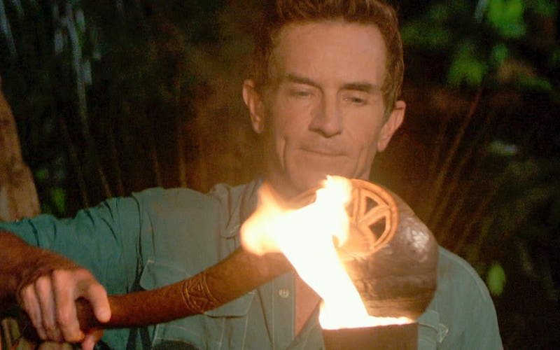 Instead of continuing to blow out torches, Jeff Probst should have turned off all this Survivor season.