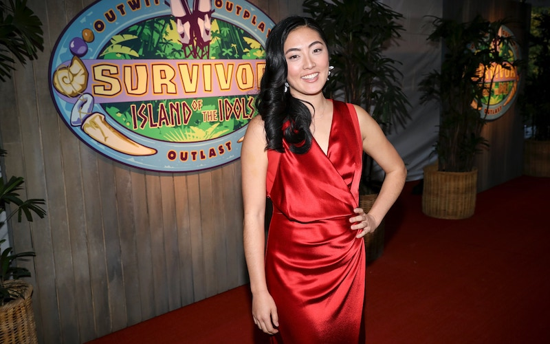 Kellee Kim at the Survivor: Island of the Idols finale and reunion