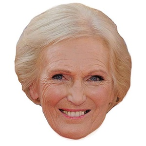 Mary Berry mask