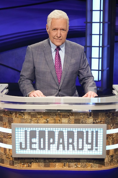 Alex Trebec, host of Jeopardy! and its special ABC tournament, The Greatest of All Time