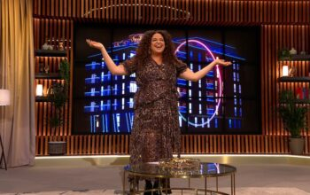 The Circle host Michelle Buteau during episode 12's reunion