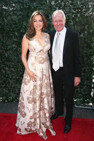 Elise Doganieri and Bertram van Munster at the 69th primetime Emmy awards in 2017