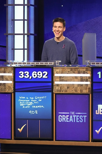 The final answer from James Holzhauer Jeopardy in episode 3 of Jeopardy! The greatest tournament of all time