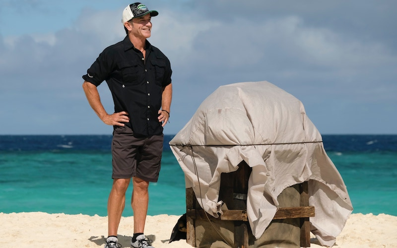 Jeff Probst and his latest surprise on Survivor: Winners at War