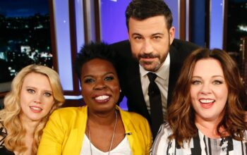 Leslie Jones and Jimmy Kimmel (center)—pictured here with Kate McKinnon and Melissa McCarthy on Jimmy Kimmel Live: Game Night—will both be hosting ABC game shows