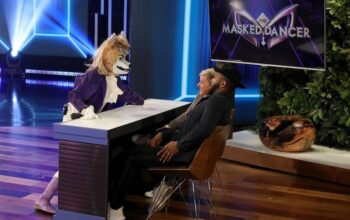During The Masked Dancer bit on Ellen, Ellen DeGeneres and tWitch watch a performance by Ken Jeong