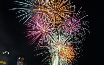 New Year's Eve fireworks in Singapore