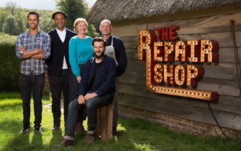 The regular experts and restorers on the BBC's The Repair Shop, which is now on Netflix