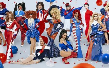 The cast of RuPaul's Drag Race season 12