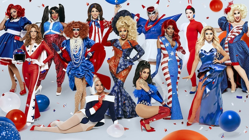The cast of the 12th season of RuPaul & # 39; s Drag Race
