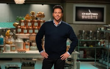 Chopped Sweets host Scott Conant