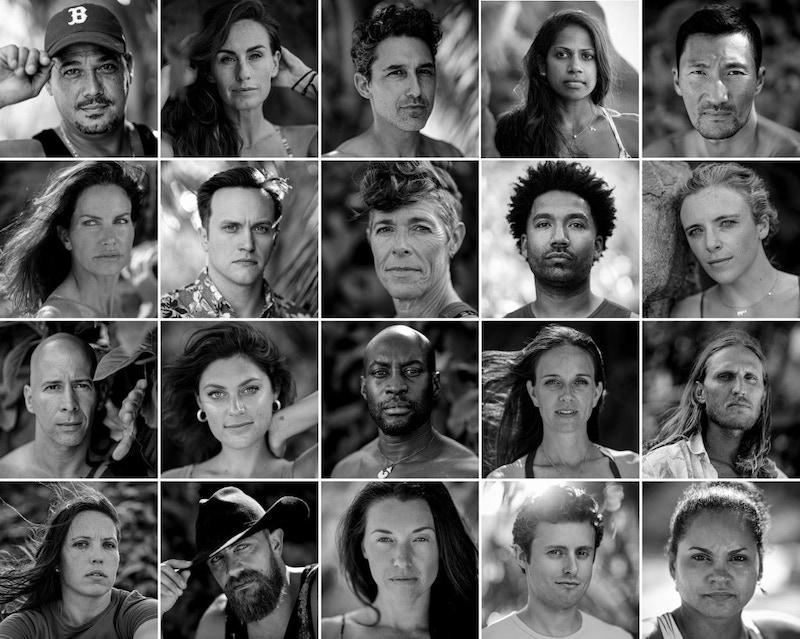 Survivor 40: Winners at War cast photos