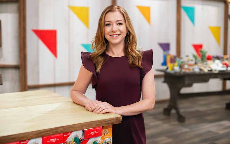 Girl Scout Cookie Championship host Alyson Hannigan