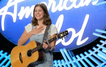 Camryn Leigh Smith auditions for the judges on American Idol 18, or season 3, as ABC is calling it