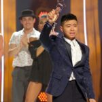 "Bailey Munoz after being selected as ""America's Favorite Dancer"" on the So You Think You Can Dance season 16 finale"