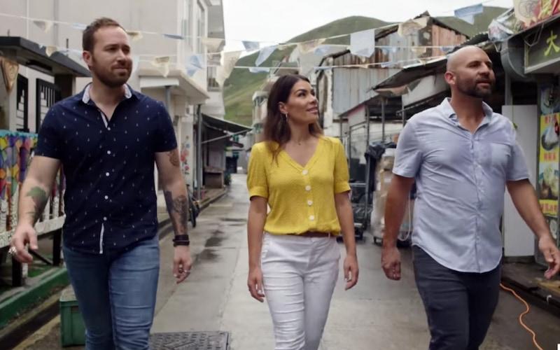 Restaurants on the Edge stars Dennis Prescott, Karin Bohn, and Nick Liberato