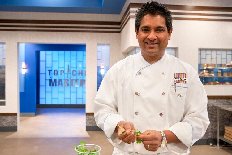Floyd Cardoz, winner of the Top Chef Masters 3