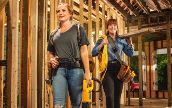 Good Bones stars Mina Starsiak Hawk and Karen Laine