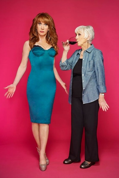 Kathy Griffin and her mother Maggie Griffin