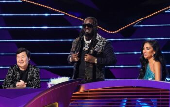 Masked Singer season 1 winner T-Pain guest judged season 3, episode 6, with Ken Jeong and Nicole Scherzinger