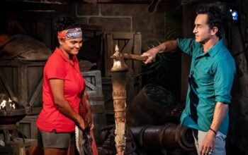 Evidence that Sandra Diaz-Twine did not quit Survivor: Winners at War: her torch was snuffed by host Jeff Probst