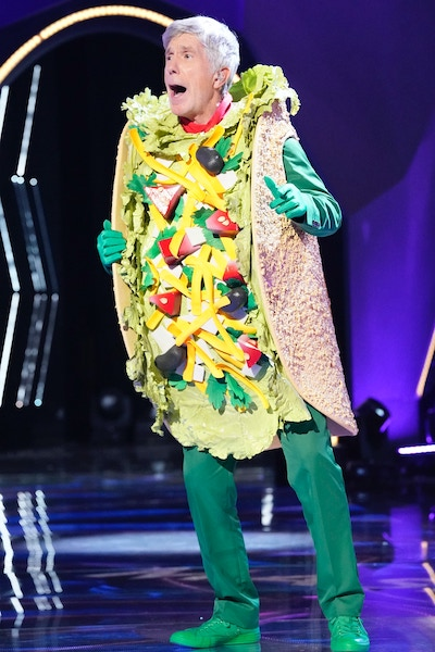Tom Bergeron was unmasked as Taco on The Masked Singer season 3