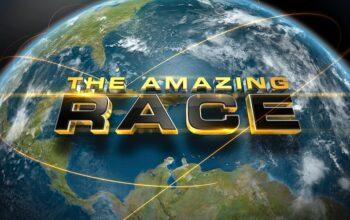 The Amazing Race globe logo
