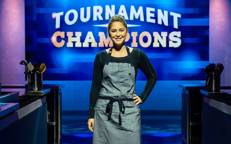 Brooke Williamson on Food Network's Tournament of Champions