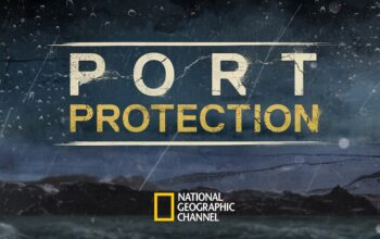 The logo from the early seasons of the renamed NatGeo reality show Life Below Zero: Port Protection