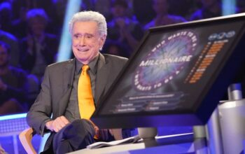 Regis Philbin—seen here on a 2019 episode of Fresh Off the Boat, playing himself—won't return as host of Who Wants to be a Millionaire, but will appear in a special about its 20th anniversary