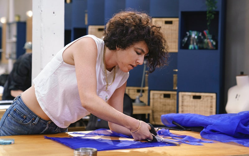 Rinat Brodach during Making the Cut episode 4